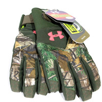 Under Armour Women's UA ColdGearScent Control Primer Gloves Mossy