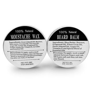 New for 2018: Chemical Free Natural Conditioning Beard Balm Beard Softener for Men