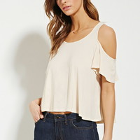 Contemporary Open-Shoulder Top | Forever 21 - 2000152619