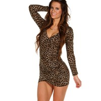 Sale-leopard Flaunt It Tunic