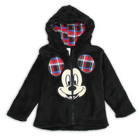Mickey Mouse Plush Hoodie