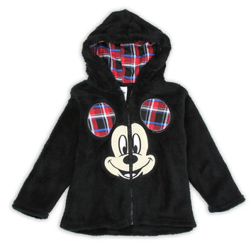 Disney's Toddler's Mickey Mouse Plush Hoodie