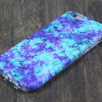 Green Violet Marble Protective iPhone XS Max Case Galaxy S8 plus S7 Edge SE Snap Case 3D 220
