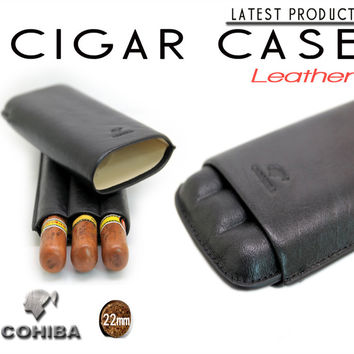 Cohiba cigar humidor cigar case Travel tube hold 3 cigars portable For Cuba Cigars Accessories