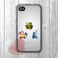 Pokemon Silhouette Quote Case -fun3 for iPhone 4/4S/5/5S/5C/6/ 6+,samsung S3/S4/S5,samsung note 3/4