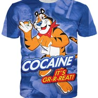 Tony the Cocaine Tiger T-Shirt