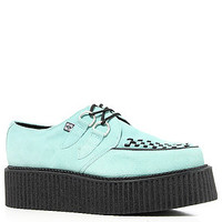 The T.U.K. Shoe Mondo Creeper in Mint and Black -Karmaloop