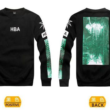 Cheap HBA Hoodies Long Sleeved In 87591 For Men Replica [$34.70] Wholesale Cheap Replica HBA Hoodies