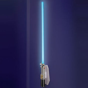 The Lightsaber Wall Sconce - Hammacher Schlemmer