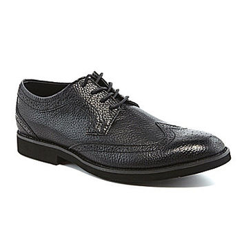 Buks by Walk Over Durney Casual Wingtip Oxfords - Black
