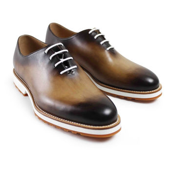 Men flat 2017 latest custom made men's oxford shoes fashion formal black party business wedding 100% genuine leather and