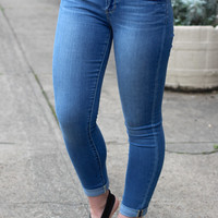 Karen Rolled Skinny Jean {Cape} by Articles of Society