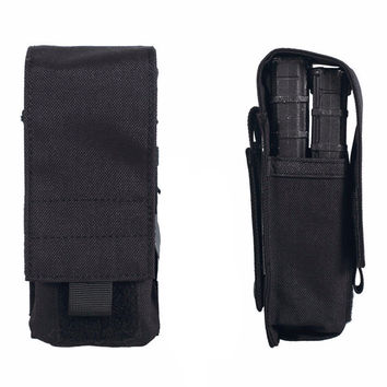 1000D  MOLLE M4 Utility Ammo Pouch Single Rifle Mag Pouch Holds 2 Magazines