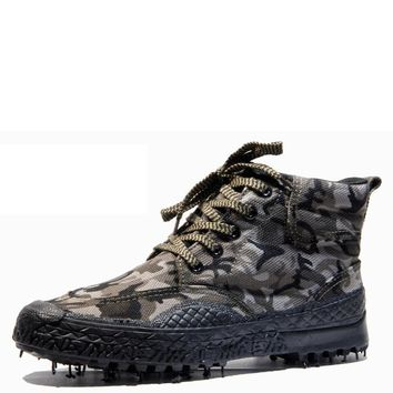 2017unisex Military Tactical Boots Camouflage Army Combat asker ot Men Espadrilles Shoes Botas Hombre rangers walking boots bot