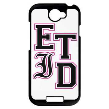Every Time I Die Varsity Letters HTC One S Case
