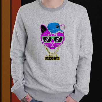 Check Meowt sweater Sweatshirt Crewneck Men or Women Unisex Size