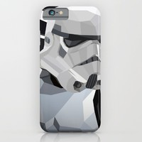 Stormtrooper iPhone & iPod Case by Liam Brazier