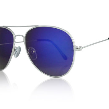 Purple Lens Aviators