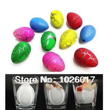 20Pcs small Cute Magic Growing Dino Egg Hatching Dinosaur Add Water Eggs Child Toy Gift