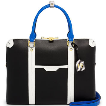 West 57th Color Blocked Briefcase