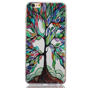 Unique Tree Case Cover for iPhone 5s 5se 6s Plus Free Gift Box 44