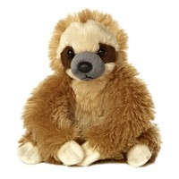 Little Baby Sloth Stuffed Animal by Aurora