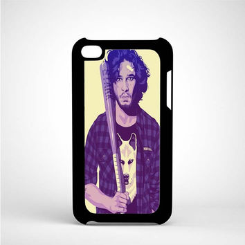 Jon Snow art iPod 4 Case