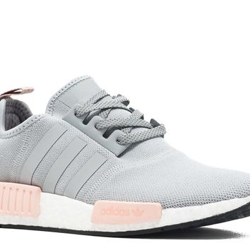 Adidas NMD R1 Womens Offspring BY3058 Clear Onix / Aluminum (8.5 B(M) US)