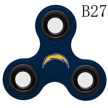 NFL Los Angeles Chargers 3-Way Fidget Spinner