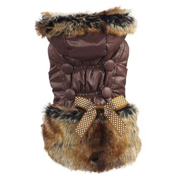 Dogs Cat Dog Clothing Winter Coat Hoodie Jacket Clothes Pets Apparel Puppy