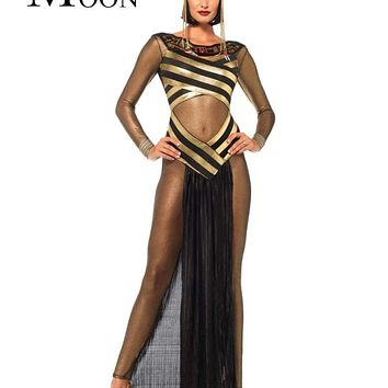 MOONIGHT Disfraces Carnaval Adultos Cosplay Egyptian Cleopatra Costume Gothic Sexy Halloween Costumes For Women Macchar Cosplay Catalogue