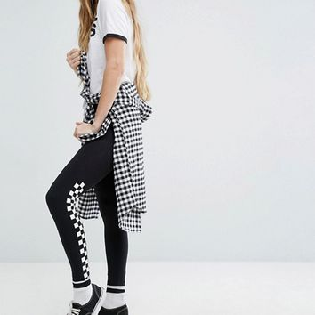 Vans Checkerboard Leggings at asos.com