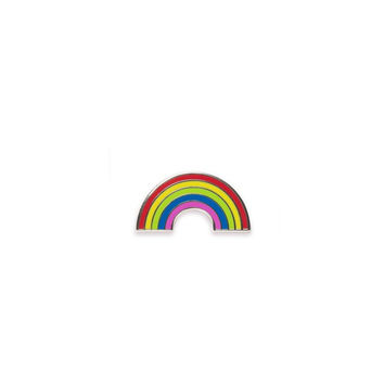 Rainbow Sticker Pin