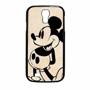 Mickey Mouse Old Samsung Galaxy S4 Case