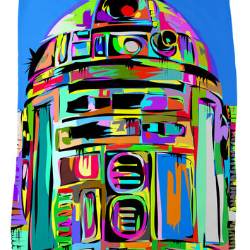 R2D2 Fleece Blanket