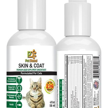 Liquid Vitamins for Skin & Coat for Cats