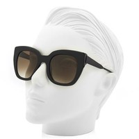 Swingy square-framed sunglasses