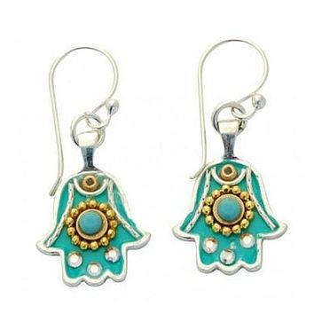 Hamsa Earrings - Small