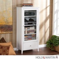 A.M.B. Furniture & Design :: Living room furniture :: TV Stands :: Holly & Martin Williamson Media Tower-White