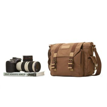 Fashionable Canvas Bag For Camera 0909-11