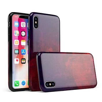 Abstract Fire & Ice V16 - iPhone X Swappable Hybrid Case