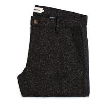 The Telegraph Trouser - Charcoal Tweed Herringbone