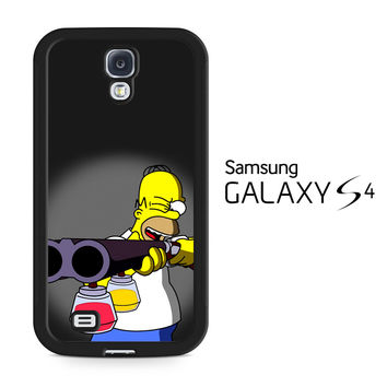 The Simpsons Homer Samsung Galaxy S4 Case