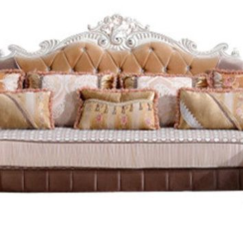 Zarah 3pc. Sectional Sofa French Provincial Design