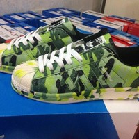 Originals Adidas Superstar Men's Women's Camouflage Classic Sneaker Sprot Shoes - M25960
