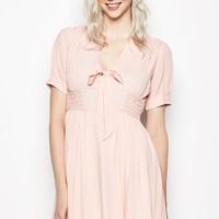 Bousley Tie Front Dress