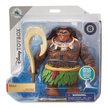 Disney Maui from Moana Action Figure Toybox New with Box
