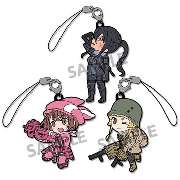 Pikuriru! Sword Art Online Alternative Gun Gale Online Rubber Strap Set (Pre-order)