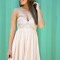 RESTOCK: Rock Star Dress: Sand | Hope's