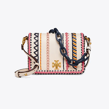 Tory Burch Kira Whipstitch Double-strap Mini Bag